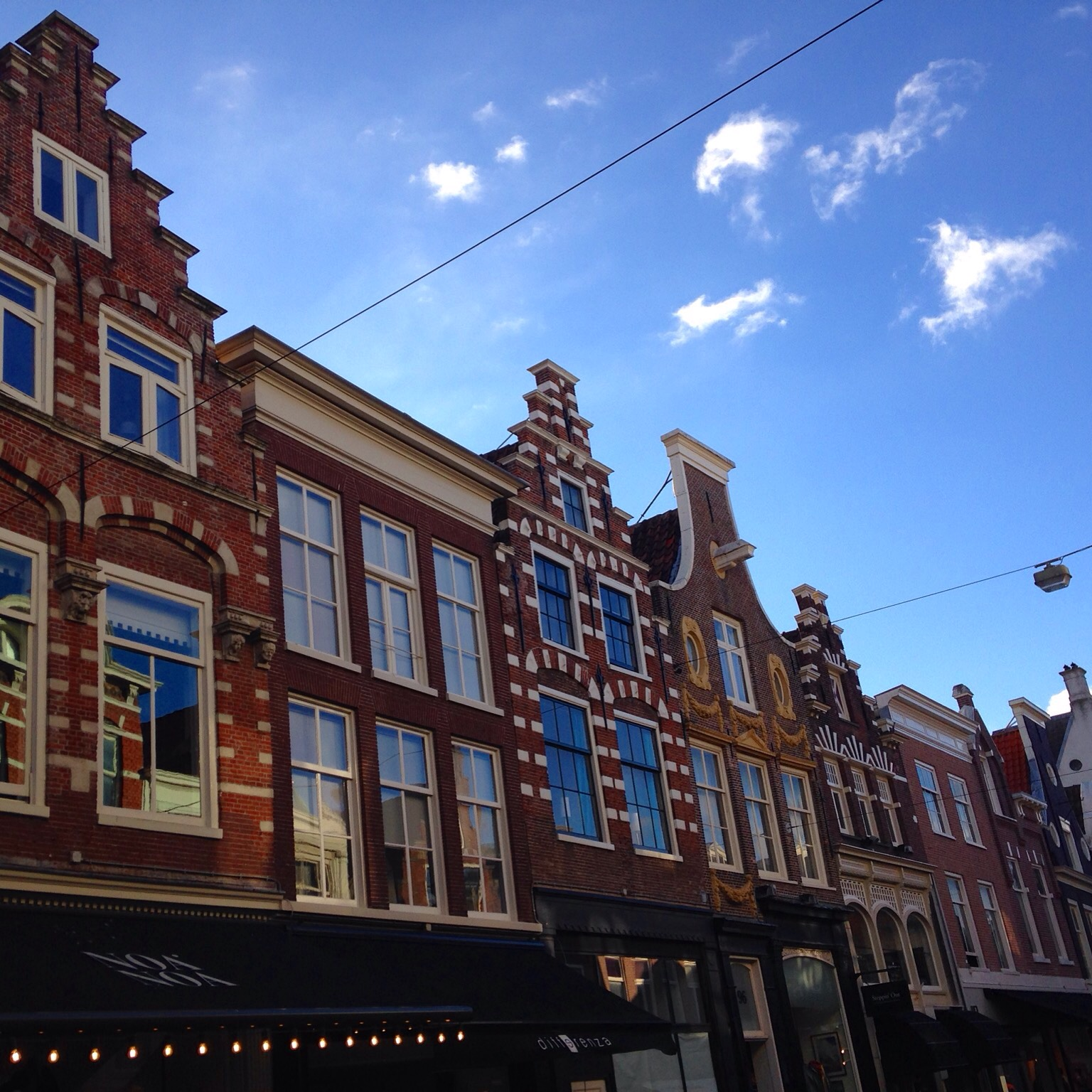 Travel Tips Holland - Gabled houses in Haarlem