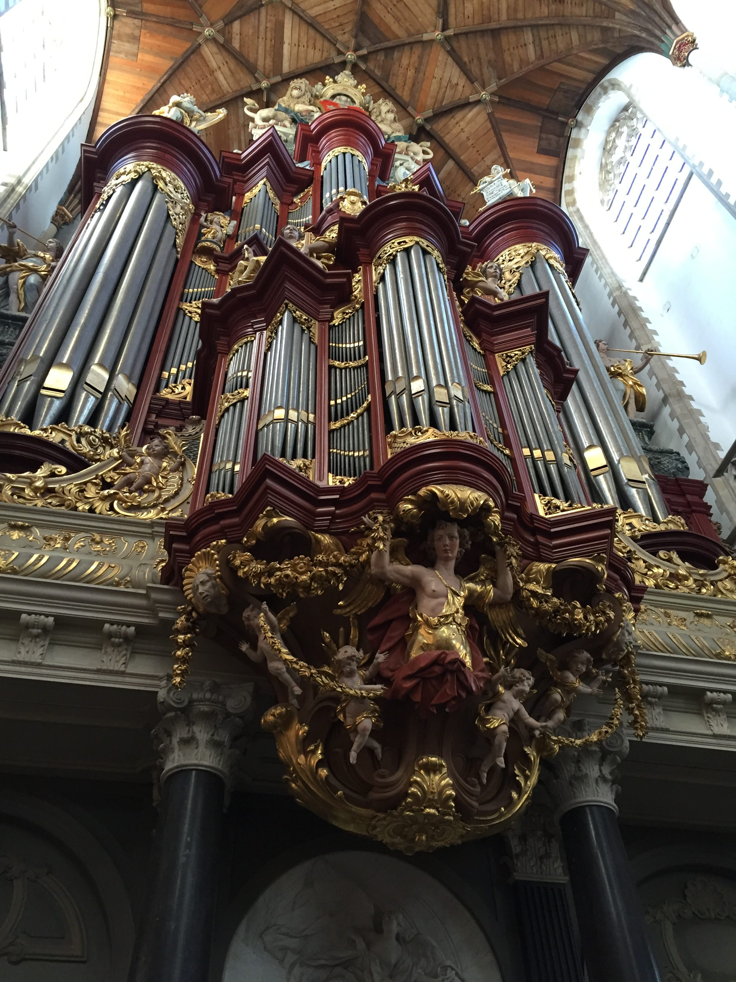 Organ in the Grote Kerke