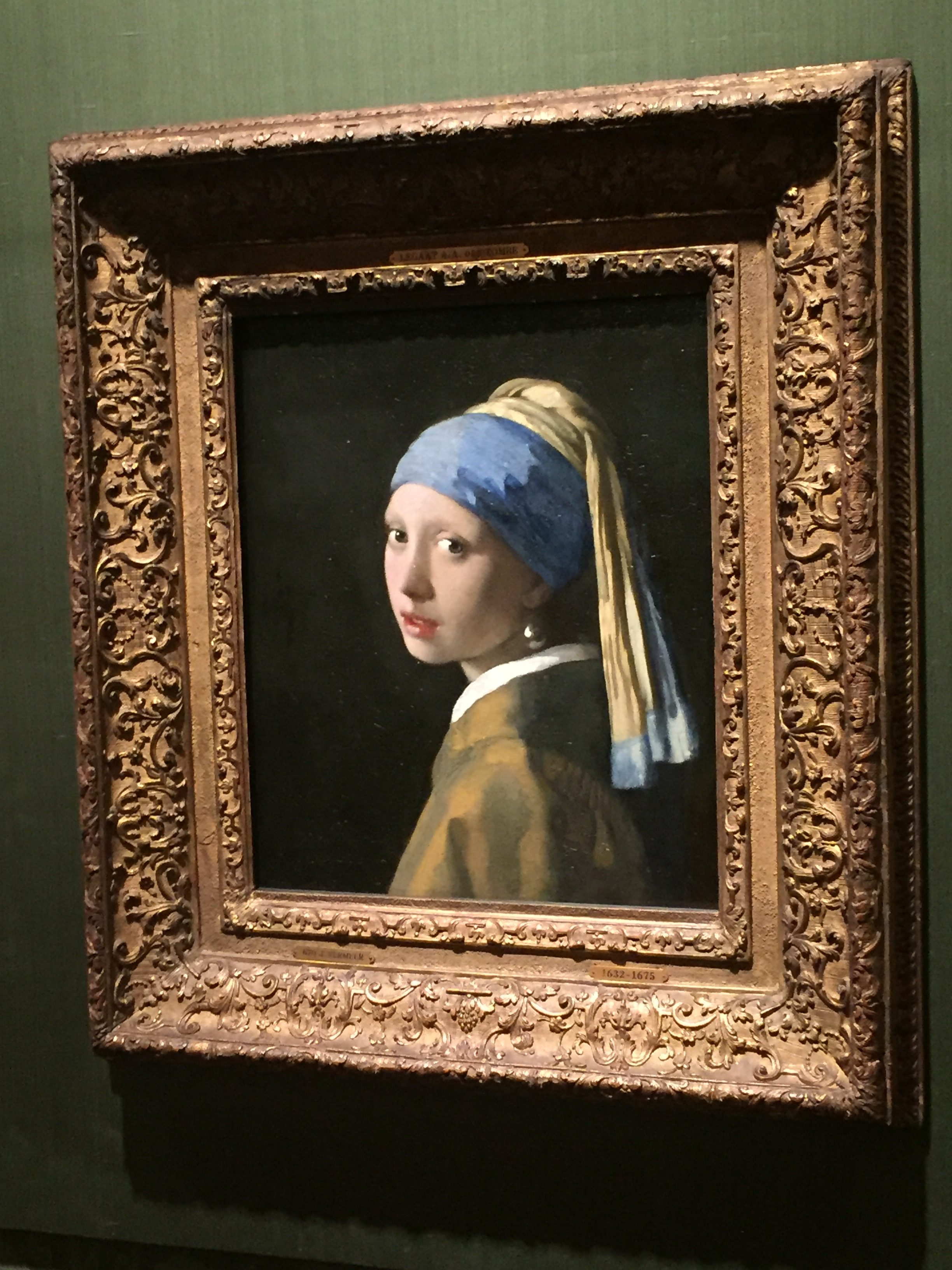 Travel Tips: Mauritshuis, Vermeer's 'Girl with a Pearl Earring'