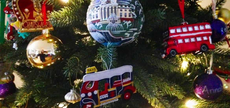 Christmas tree, decorated