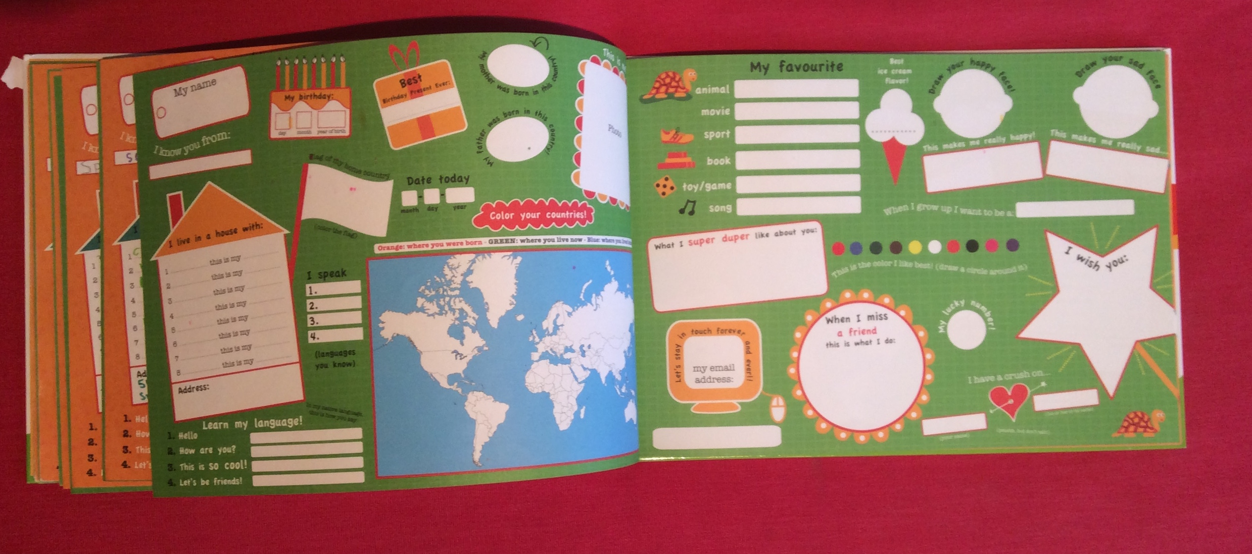 Might be Moving? Friendship Book for Kids on the Move
