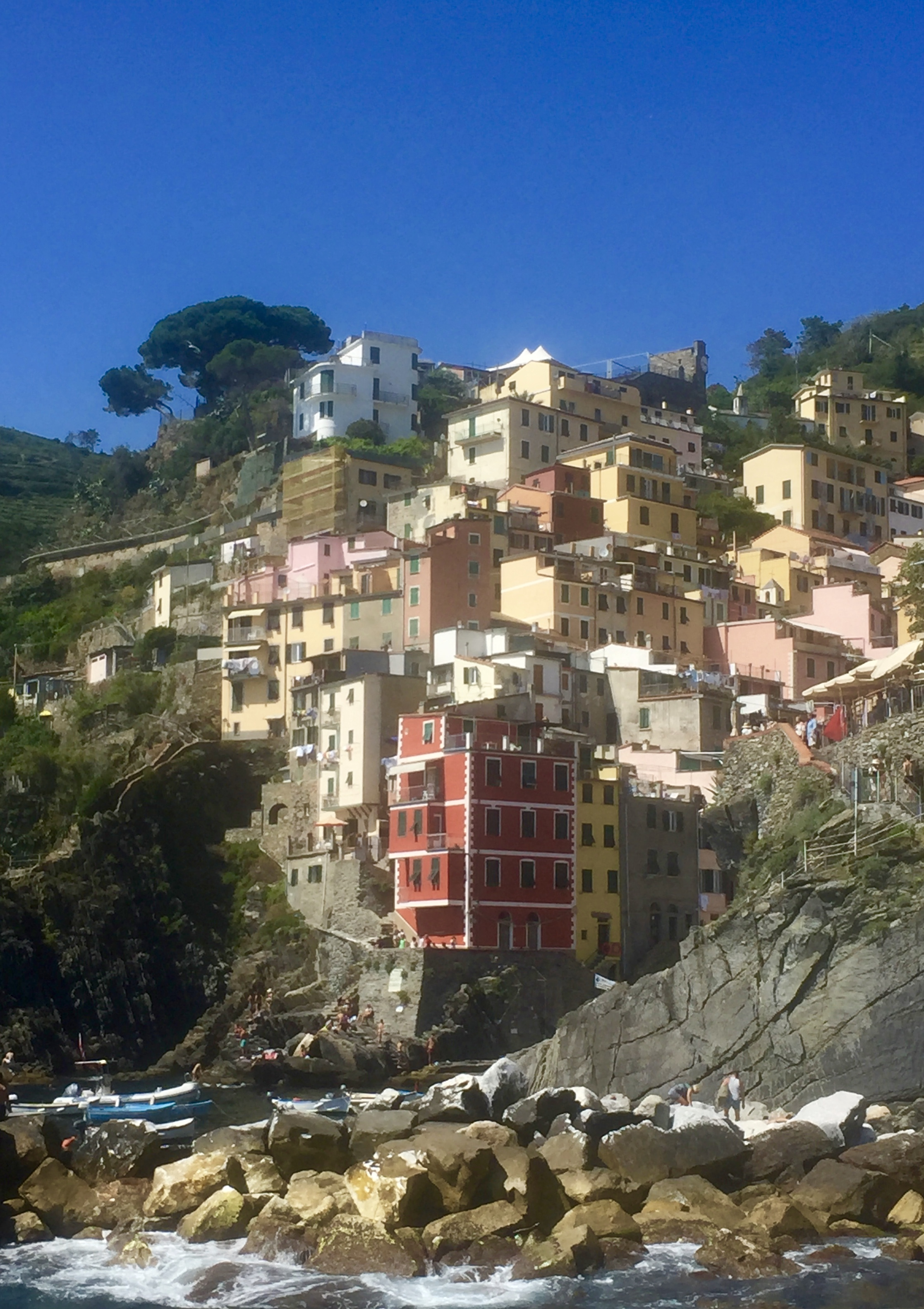 Tuscany with Kids - trip to Cinque Terre