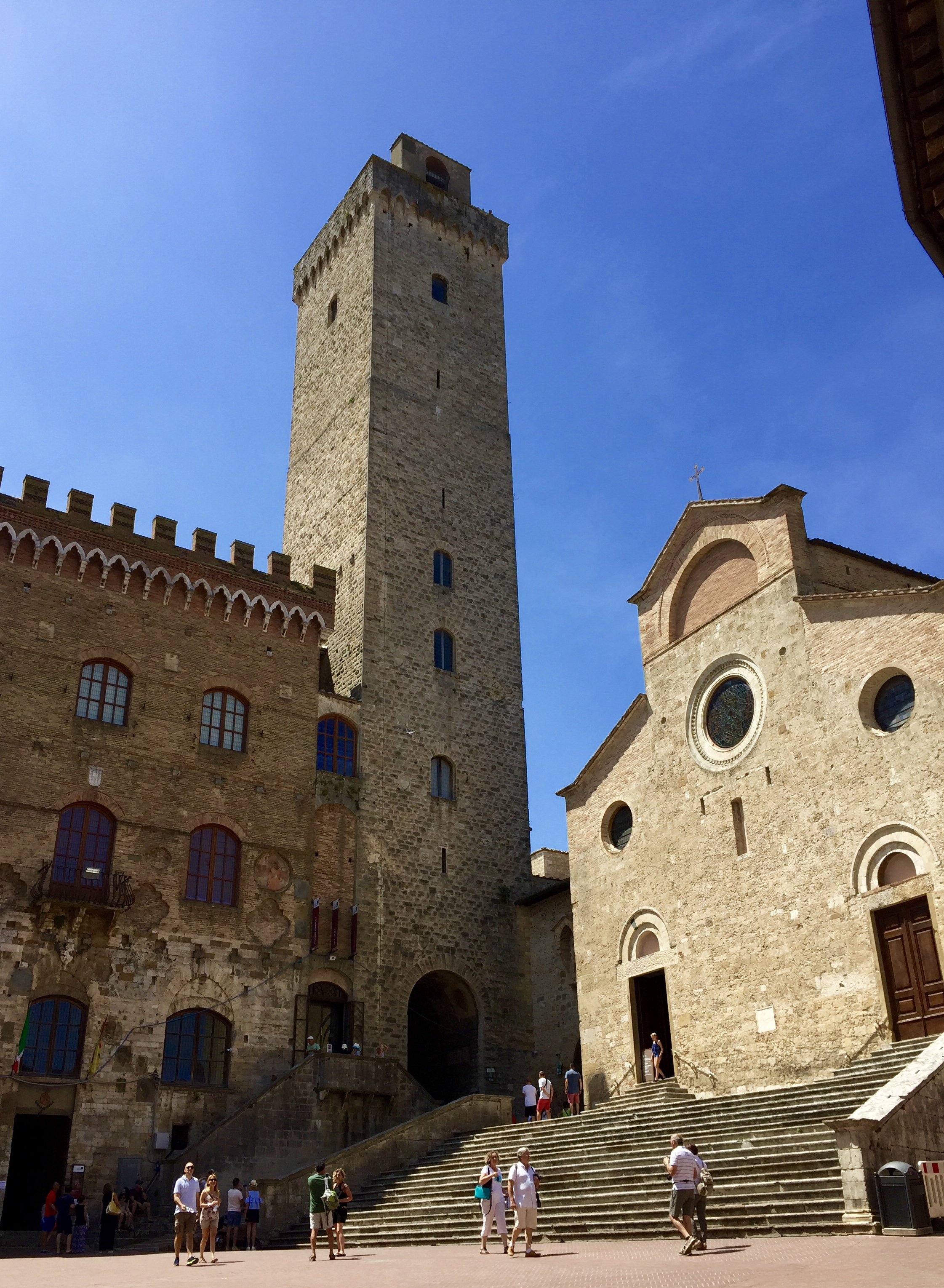 Tuscany with kids - visit San Gimignano