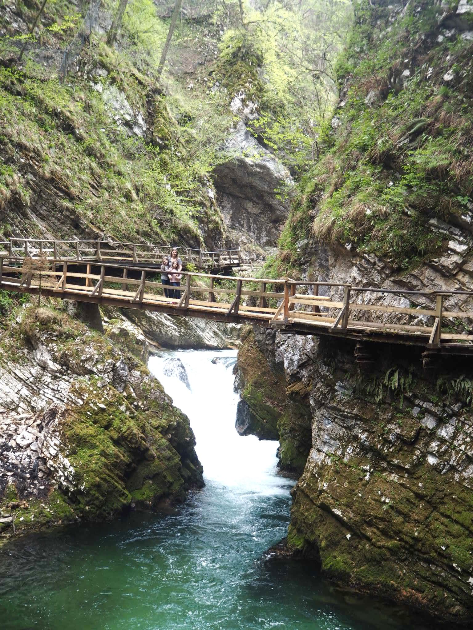 Slovenia Vintar gorge
