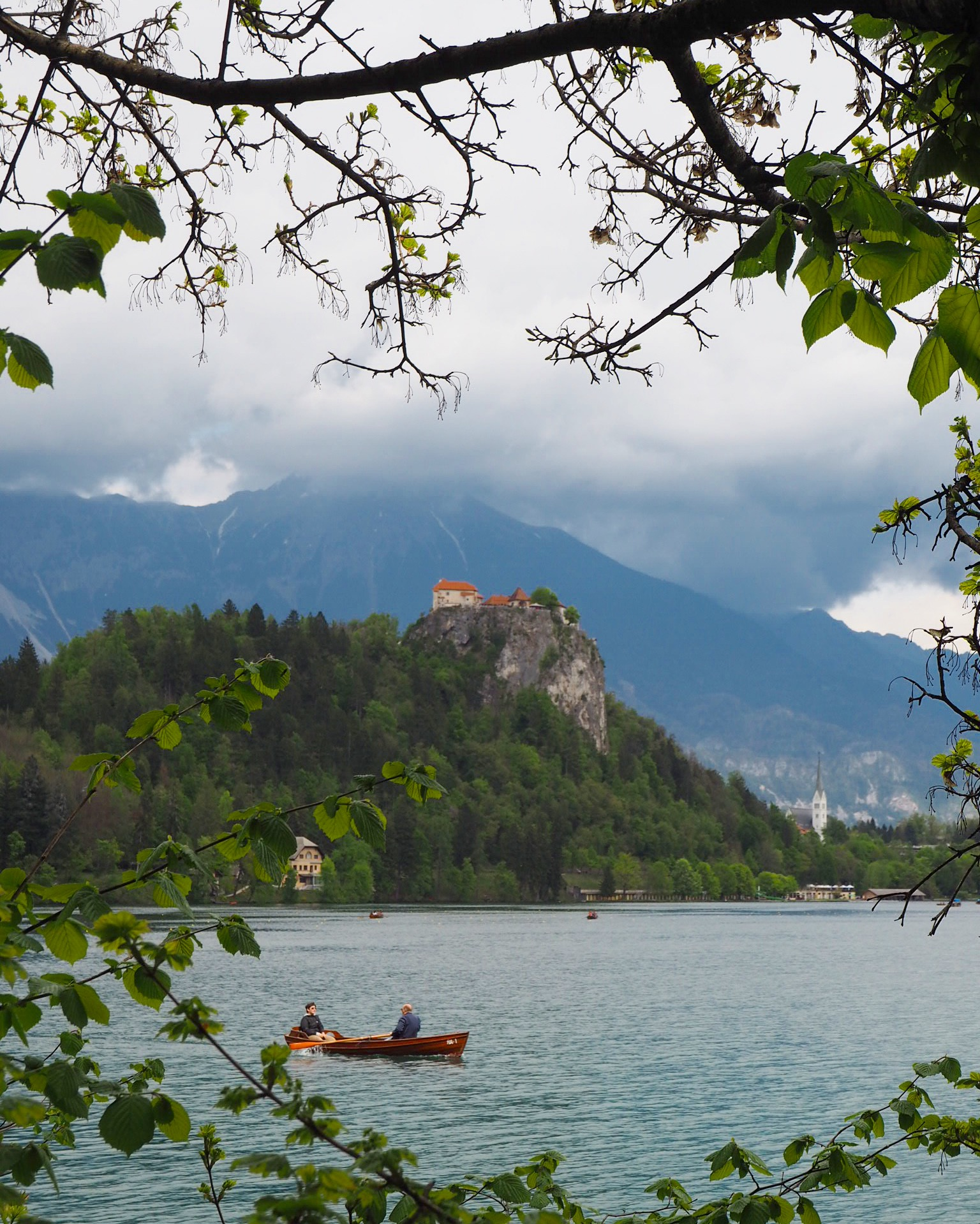 Lake Bled Castle Slovenia