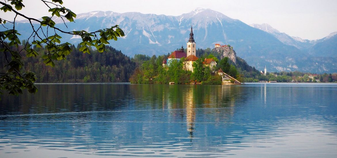Image of Lake Bled island