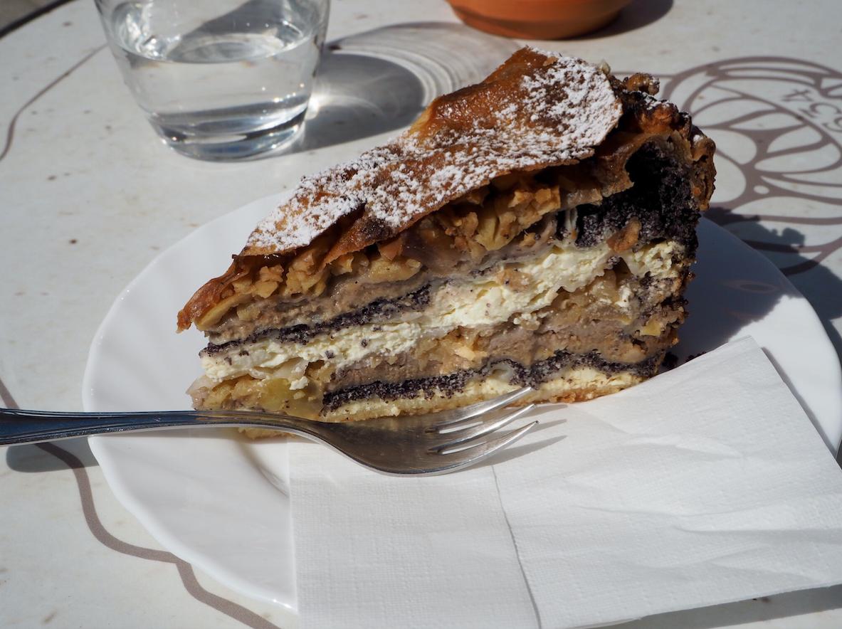 Prekmurska Gibanica Cake
