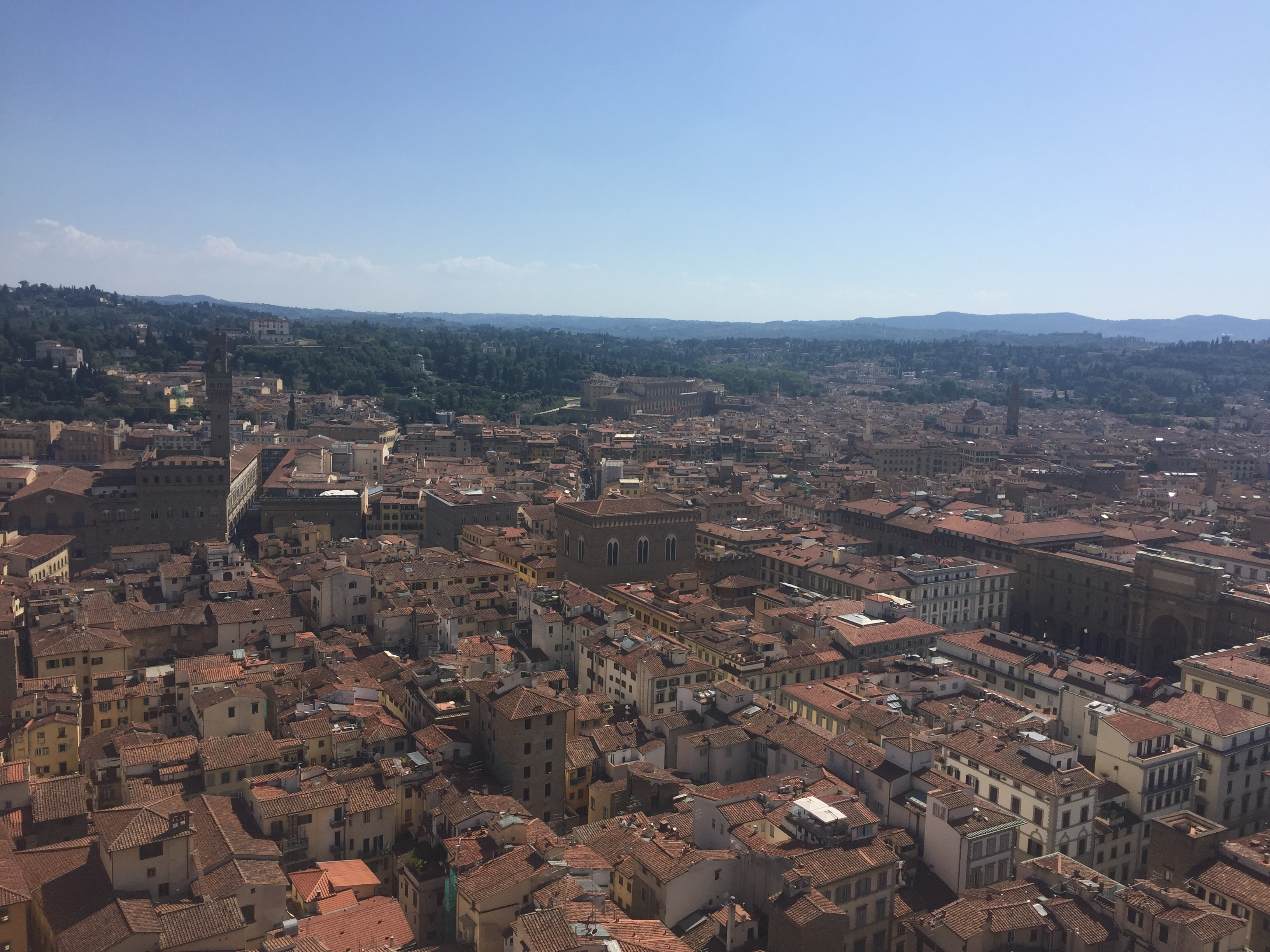 View from the top of Il Duomo