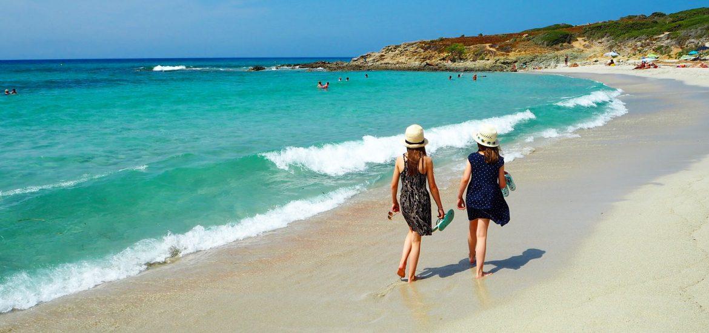 Beach at Calvi Corsica