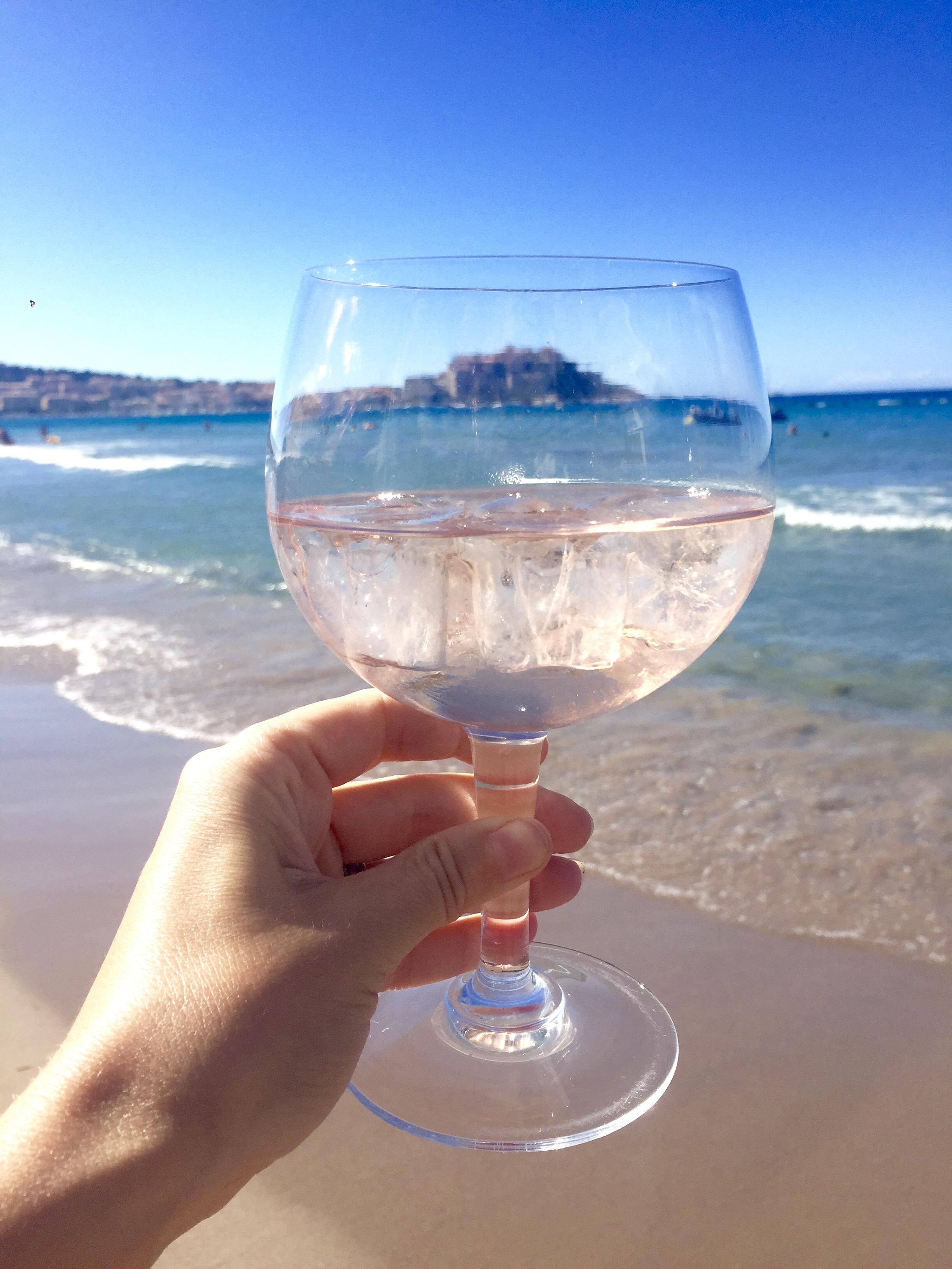 Corsica Calvi beach
