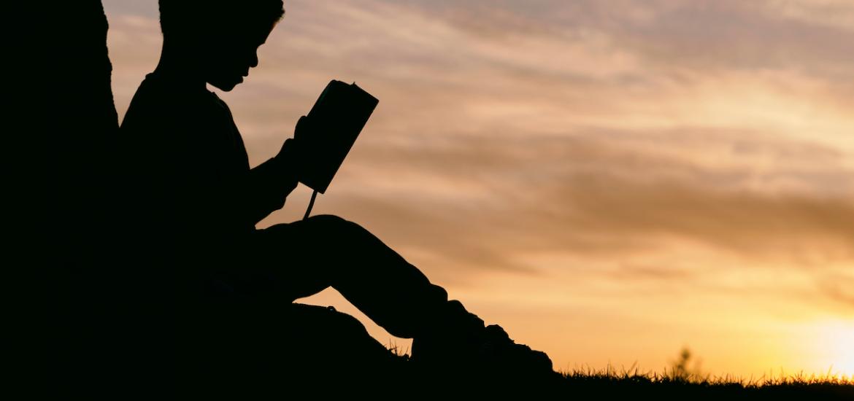Boy reading - encouraging boys to read