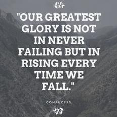 Failing and falling